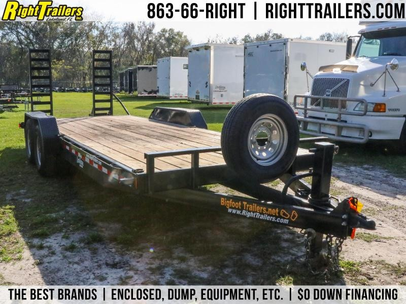 7x20 Bigfoot Trailers | Equipment Trailer