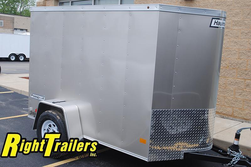 5x8 Haulmark | Enclosed Trailer [Silver Frost]