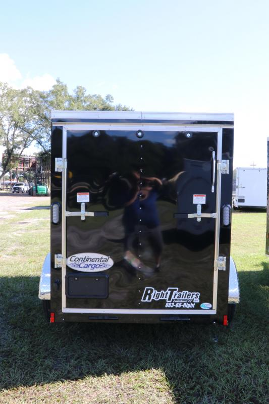 5x10 Continental Cargo | Enclosed Cargo Trailer