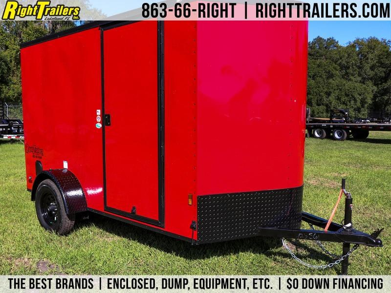 Red Continental 6X10 Cargo