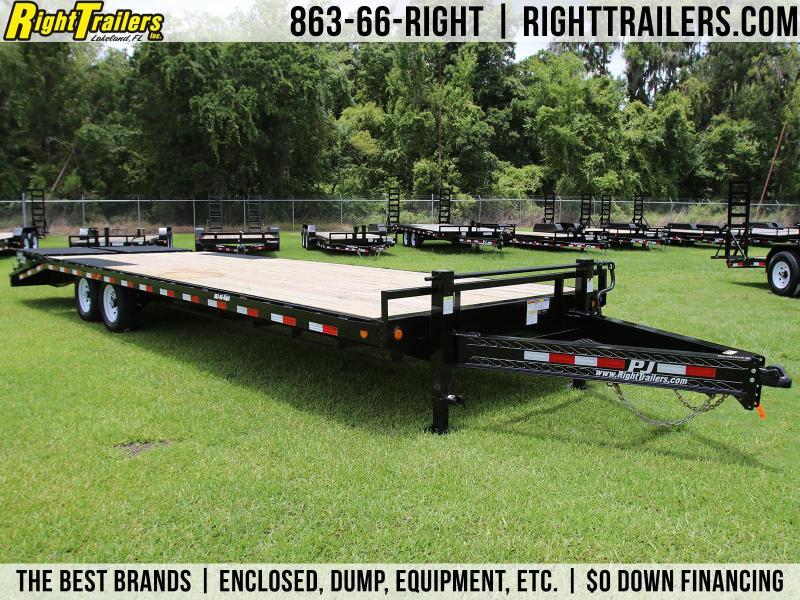 8x28 PJ Trailers | Deckover Equipment Trailer