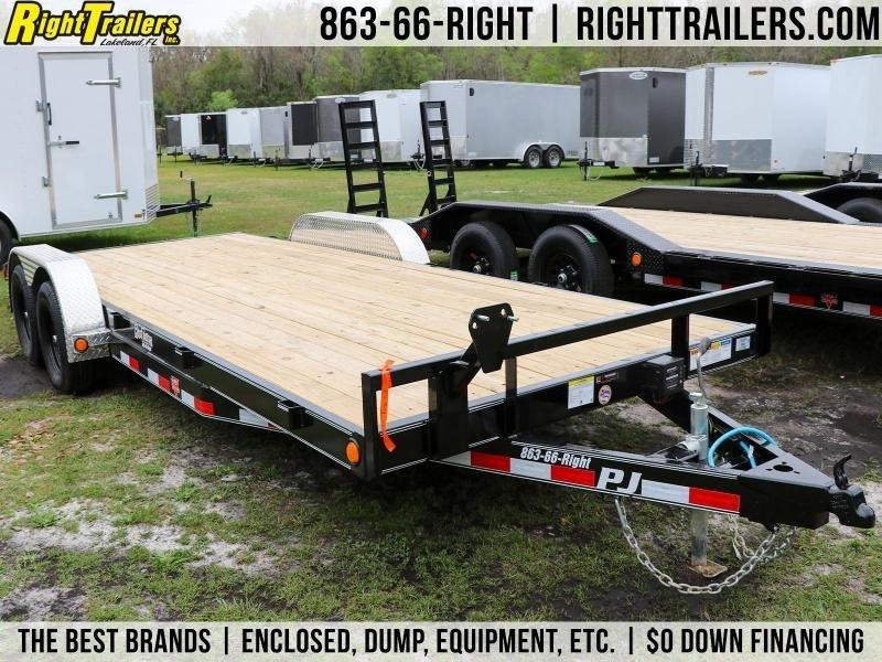 7x20 PJ Equipment Trailer