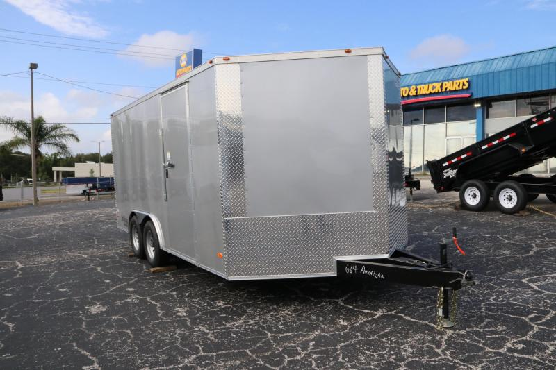 8.5x16 Red Hot Trailers | Enclosed Trailer
