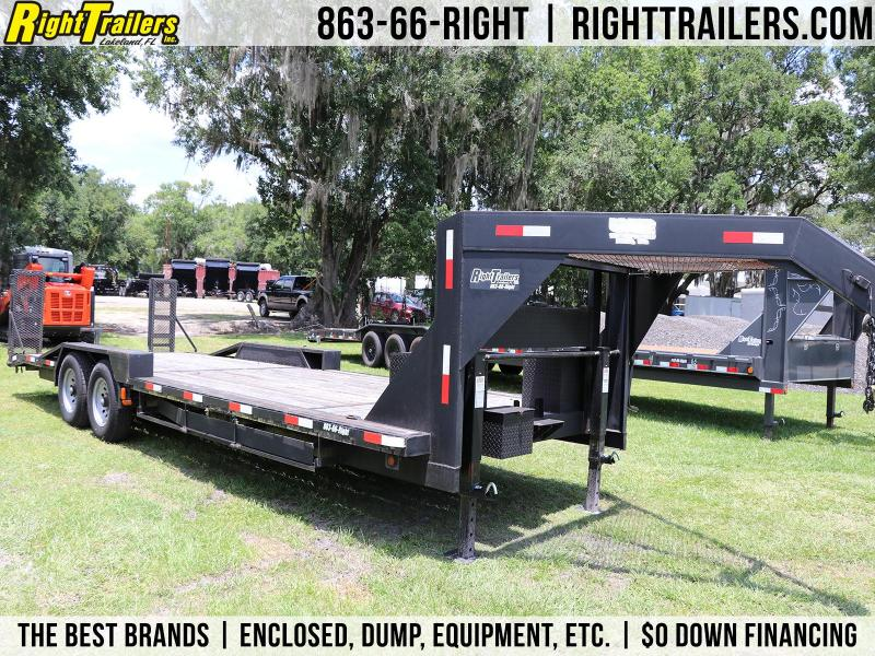 8.5x25 Prime Trailer | Gooseneck Equipment Trailer
