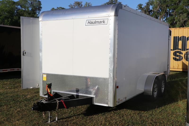 7X16 Haulmark Grizzly I Enclosed Cargo Trailer
