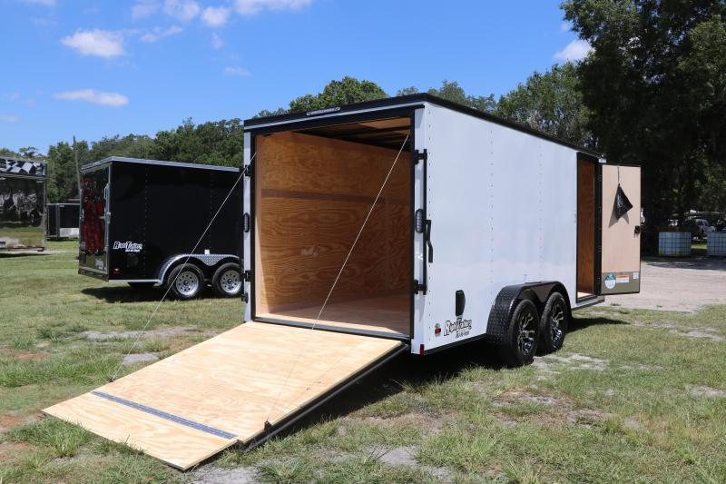 7X16 Continental Cargo I Enclosed Cargo Trailer w/ Blackout Package
