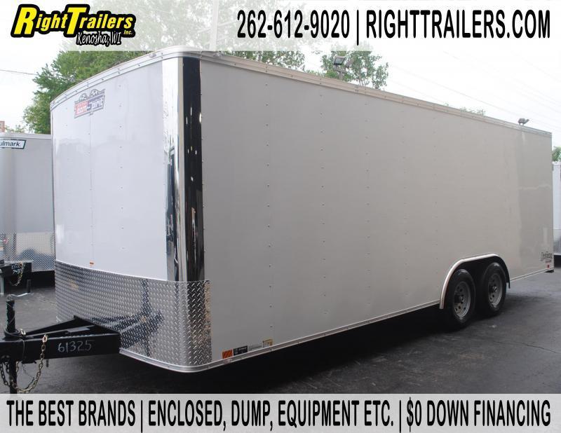 8.5x22x6.5 Team Spirit Custom Trailers | Enclosed Trailer
