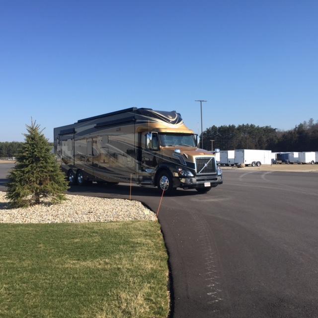 2017 Haulmark Motorcoach V45DB Class C RV