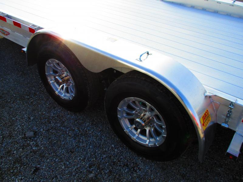 2019 H and H Trailer 82 X 182 Aluminum Heavy Duty Car / Racing Trailer