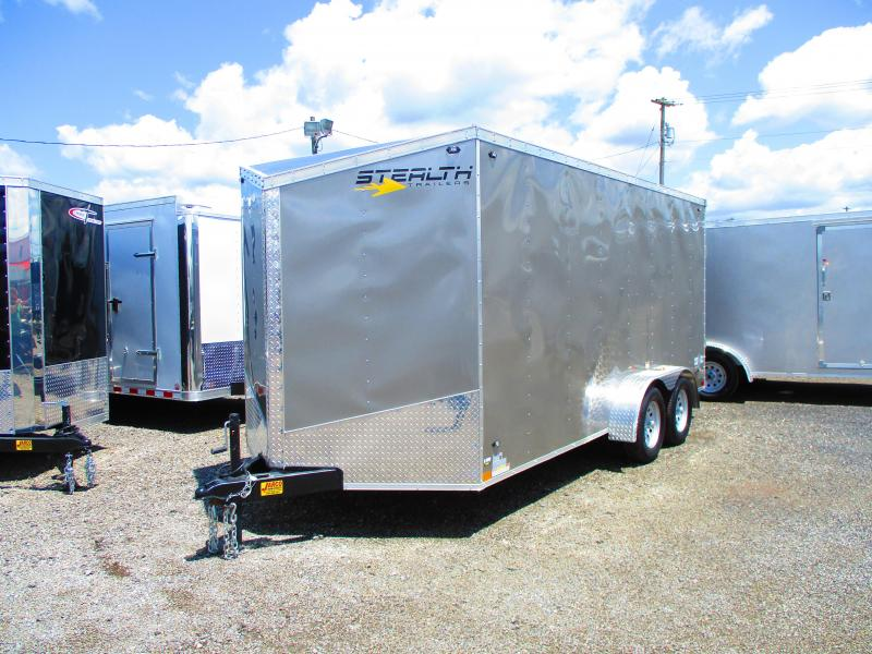 2020 Stealth Trailers 7 X 16 Enclosed Cargo Trailer