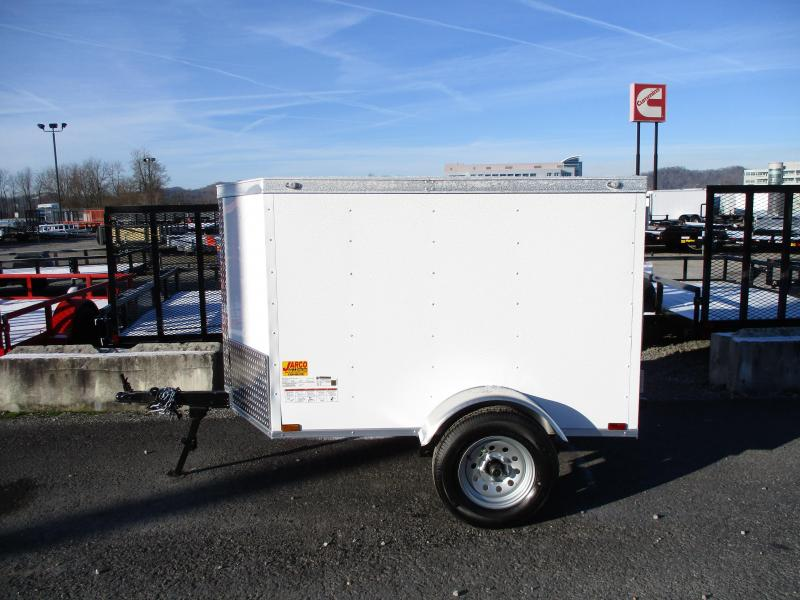 2020 Spartan Cargo 4 X 6 Enclosed Cargo Trailer