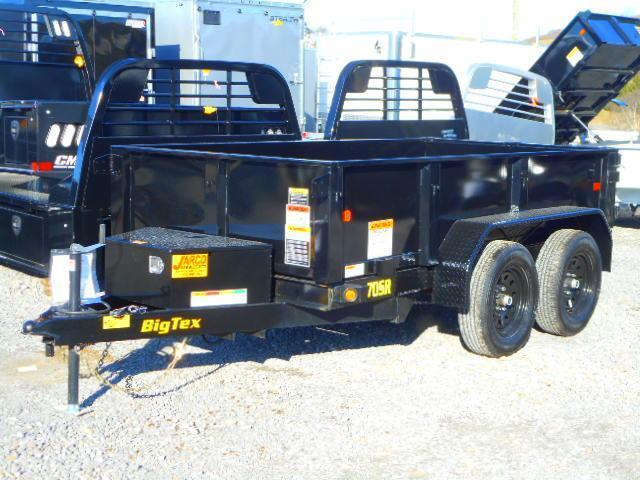 2020 Big Tex Trailers 70SR 5 X 10 Dump Trailer