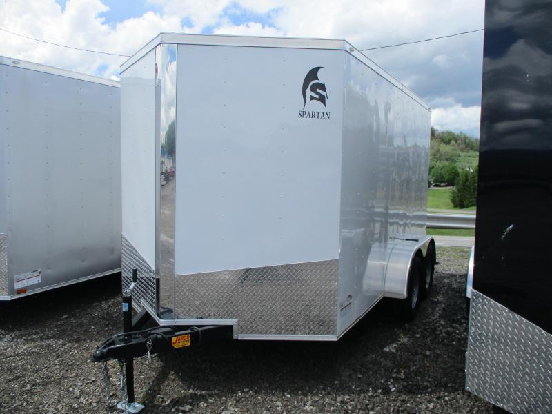 2020 Spartan Cargo 7 X 12 Tandem Axle Enclosed Cargo Trailer