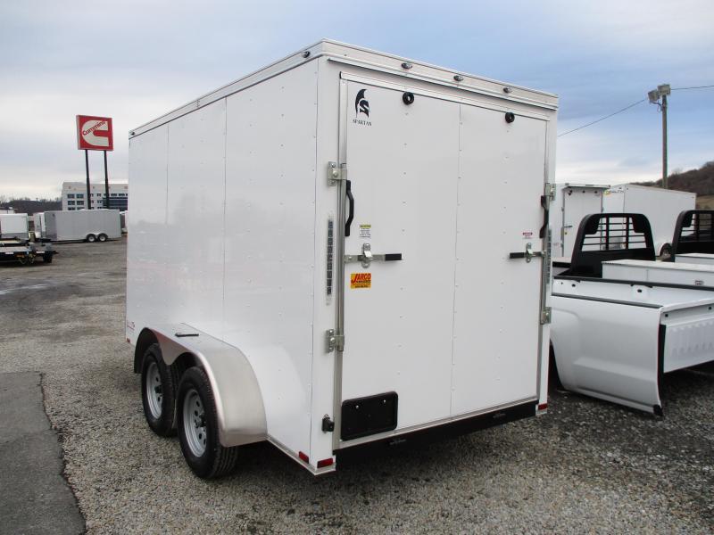 2020 Spartan Cargo 6 X 12 Tandem Axle Enclosed Cargo Trailer