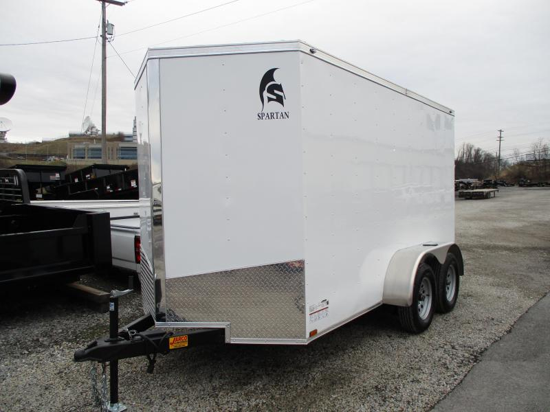 2020 Spartan Cargo 6 X 12 Tandem Axle Enclosed Cargo Trailer