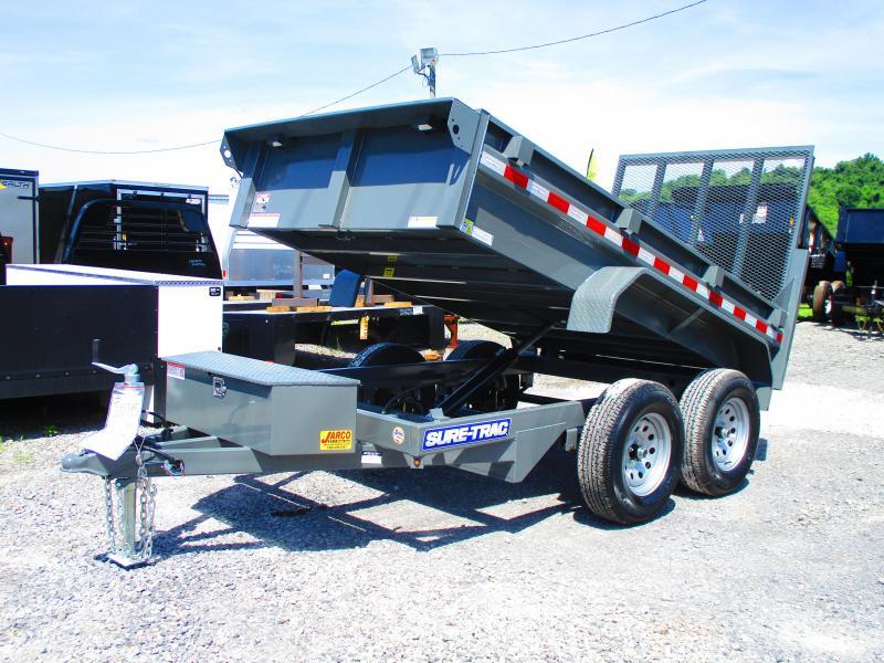 2020 Sure-Trac 62in x 10 LProfile Dump 7K Single Ram
