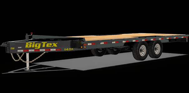 2020 Big Tex Trailers 14OA-18 Equipment Trailer