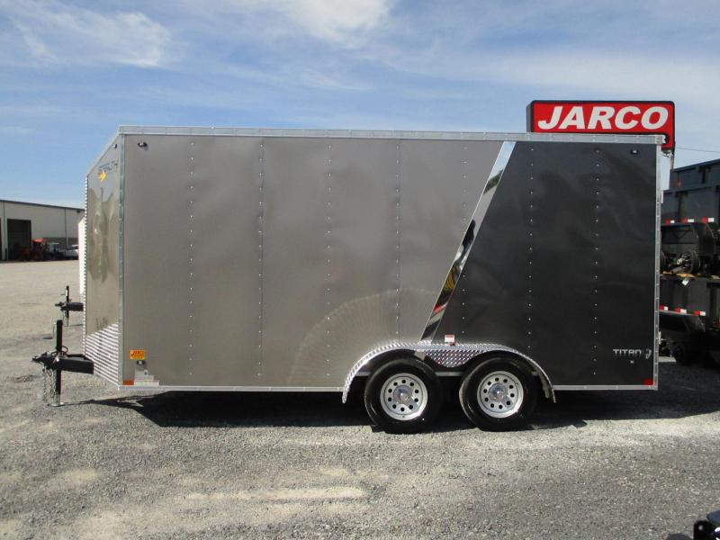 2020 Stealth Trailers Titan 7 X 16 Enclosed Cargo Trailer