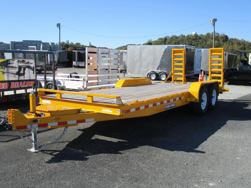 2019 Sure-Trac 7 x 20 Equipment Trailer  14K