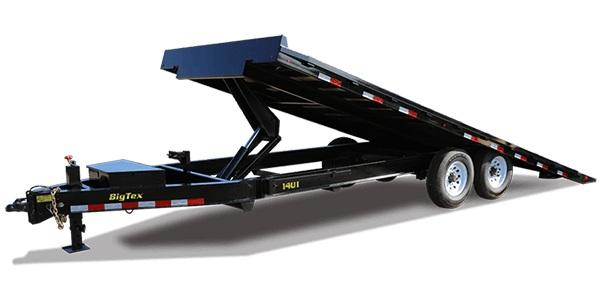 2020 Big Tex Trailers 14OT 102 X 26 Power Tilt Equipment Trailer