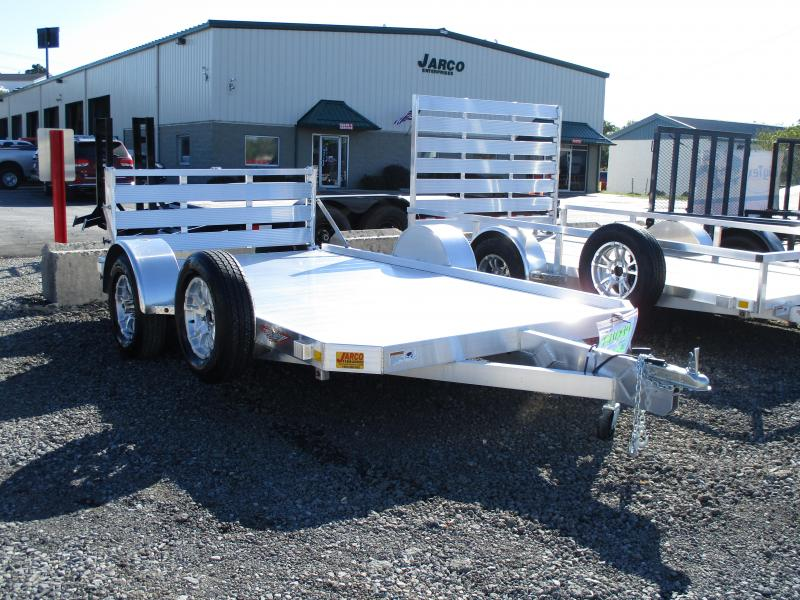 2020 H and H Trailer 78 X 12 Low Side Aluminum Utility Trailer
