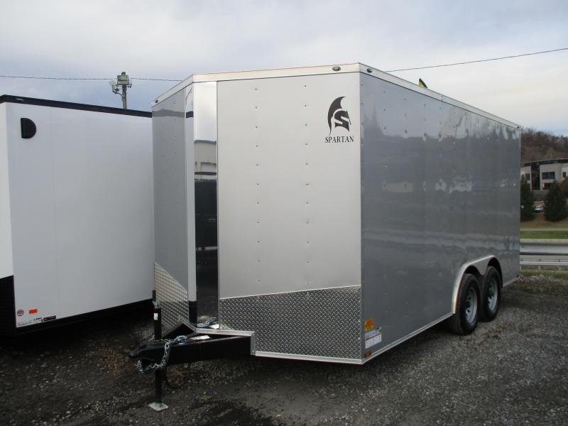 2020 Spartan Cargo 8.5 X 16 Enclosed Cargo Trailer