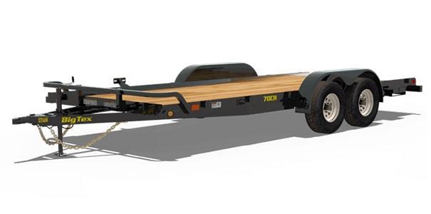 2020 Big Tex Trailers 70CH 83 X 20 Car / Racing Trailer