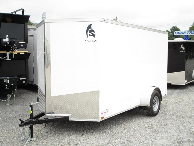 2020 Spartan Cargo 6 X 12 Enclosed Cargo Trailer