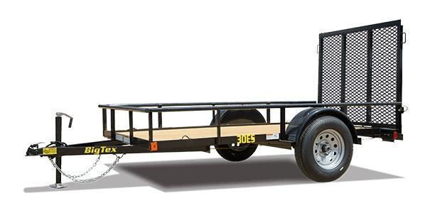 2020 Big Tex Trailers 30ES 5 X 8 Utility Trailer
