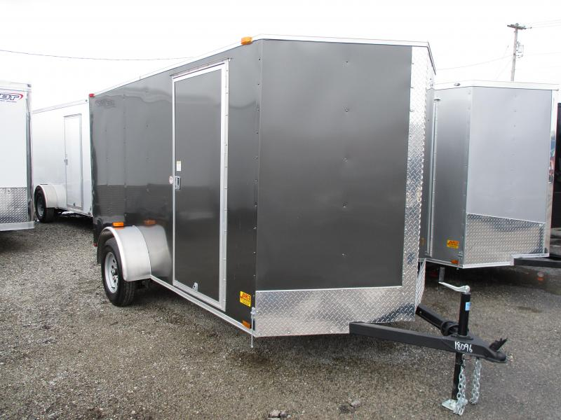 2020 Spartan Cargo Warrior 6 X 12 Enclosed Cargo Trailer