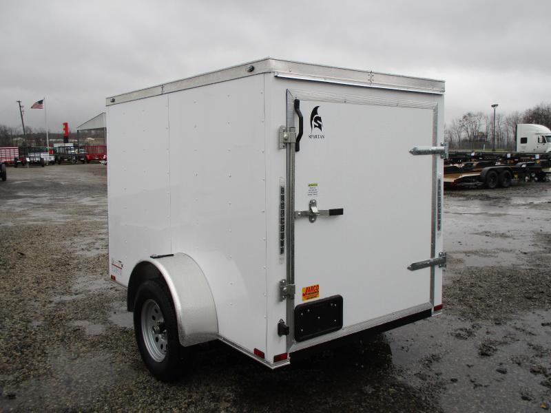 2020 Spartan Cargo 5 X 8 Enclosed Cargo Trailer