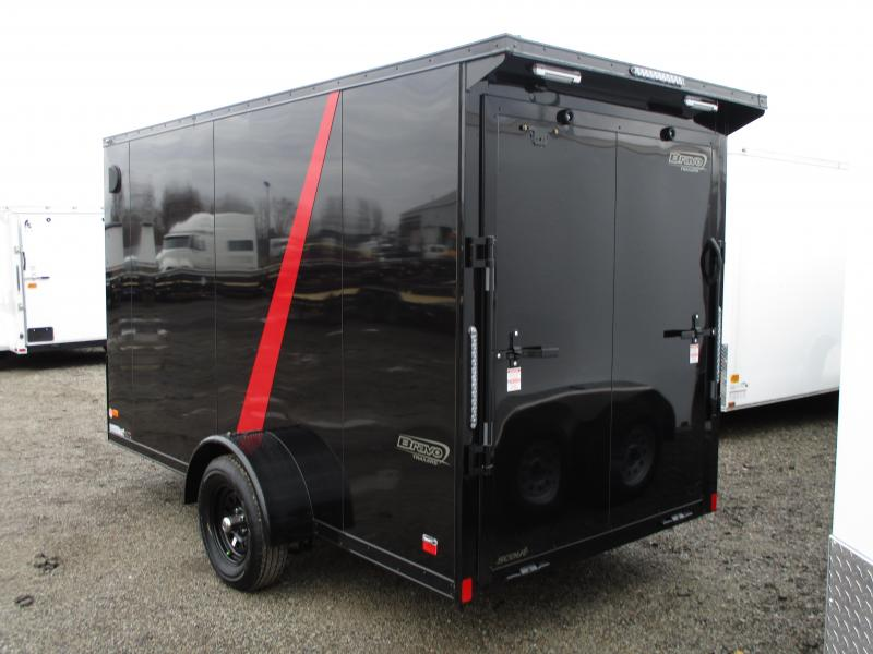 2020 Bravo Trailers THIN RED LINE Scout 6 X 12 Enclosed Cargo Trailer