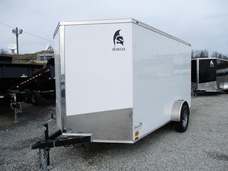 2020 Spartan Cargo 7 X 12 Enclosed Cargo Trailer