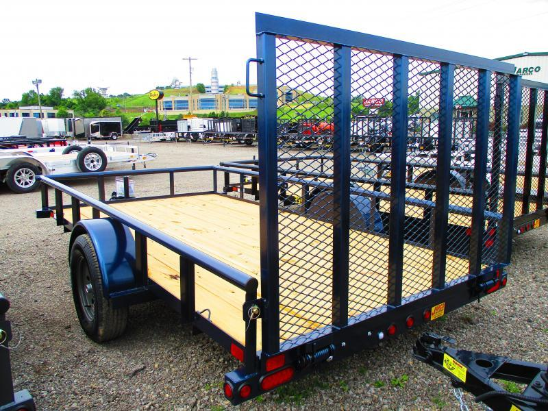 2020 Big Tex Trailers 35SA 6-1/2 X 12 Utility Trailer