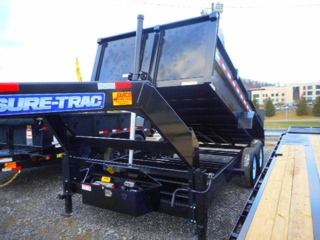 2020 Sure-Trac 82 IN X 14 LP 14K Goose Telescopic Dump