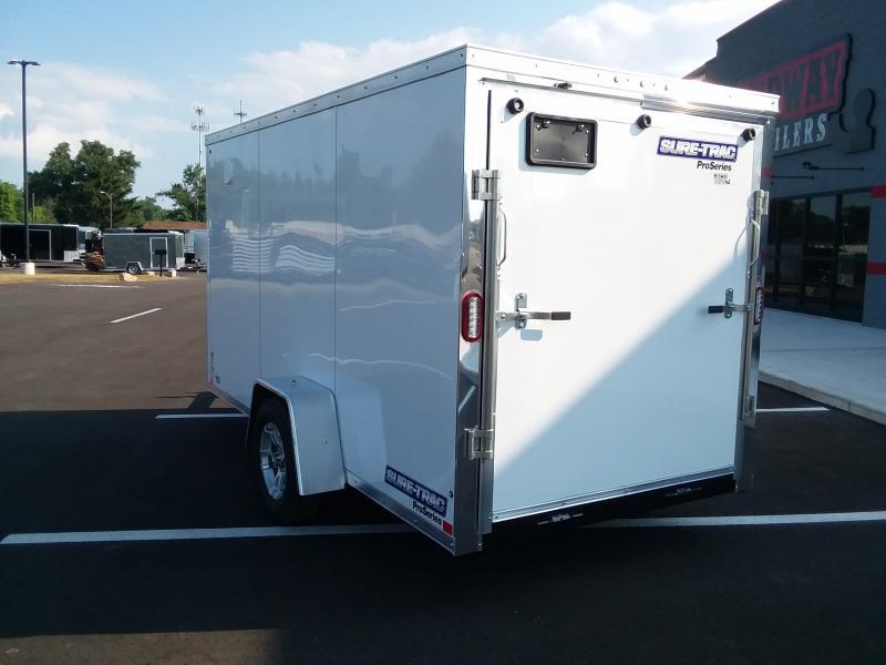 2019 Sure-trac 6'x12' White 3k