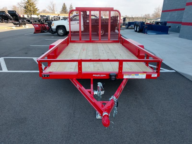2019 Pj 7'x12' Ready Rail 7k Red