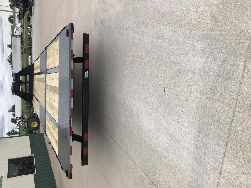 2020 Sure-trac 8.5'x22'+10 Lp Hyd Deckover Tandem 22.5k