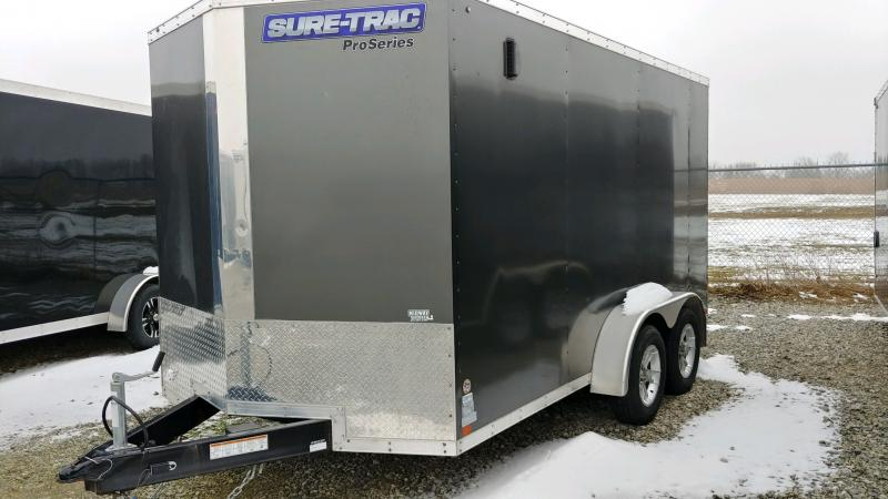 2017 Sure-trac 7x14 Psw 7k Charcoal