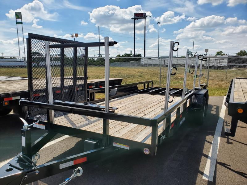 2019 Sure-trac 7'x20' Tube Top 10k W/ Side Ramp