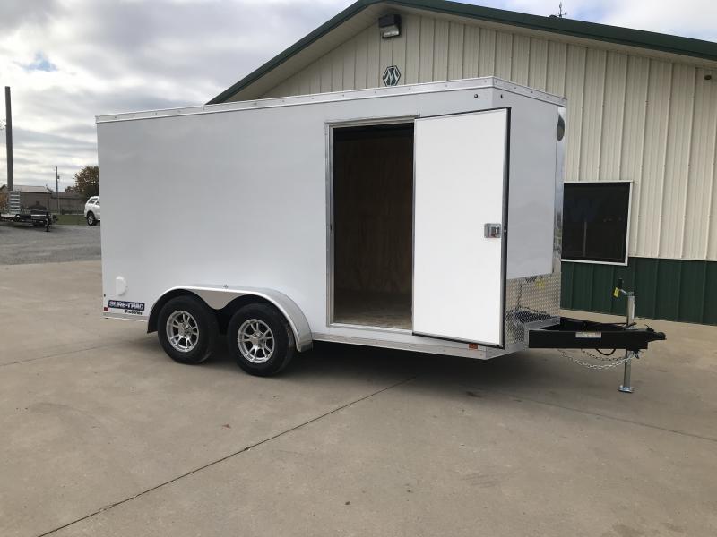 2019 Sure-trac 7x12 Psw 7k White