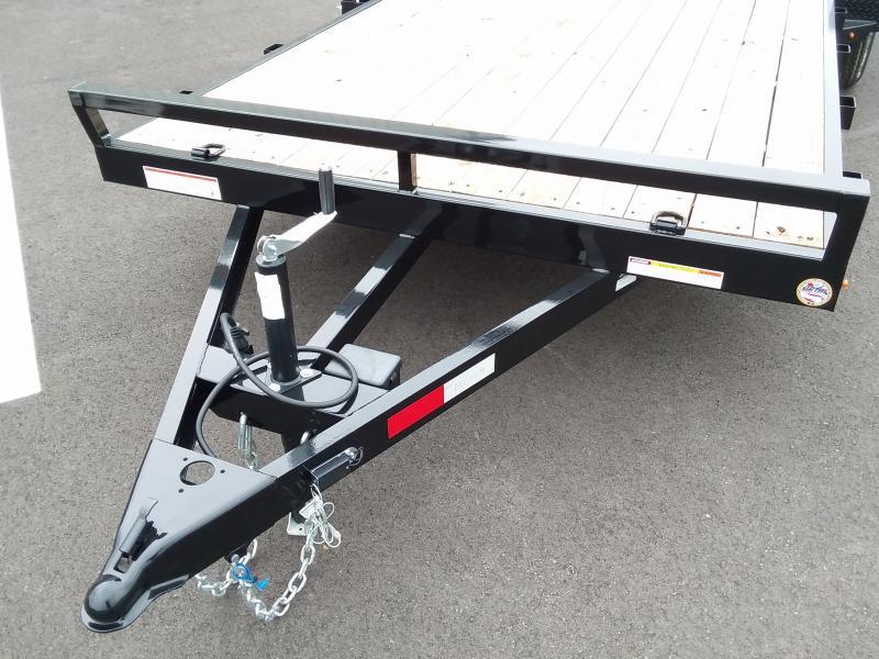 2020 Sure-trac 7' X 20' Wood Deck 10k
