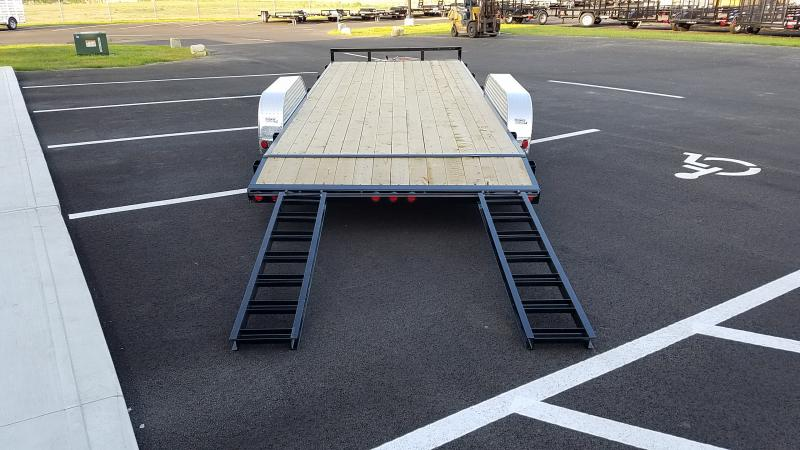 2020 Pj Trailers 7'x20' Wood Deck 7k