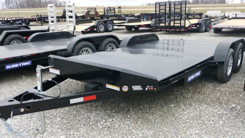 2020 Sure-trac 7x18 Steel Deck Ch 7k