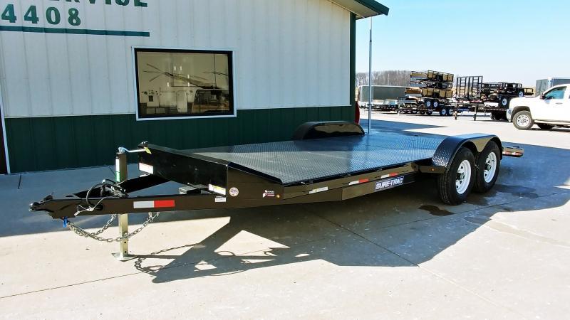 2020 Sure-trac 7x20 Steel Deck Ch 10k