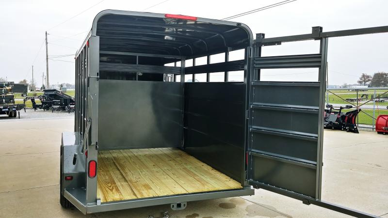2019 Corn Pro 6x16 Livestock 7k Charcoal