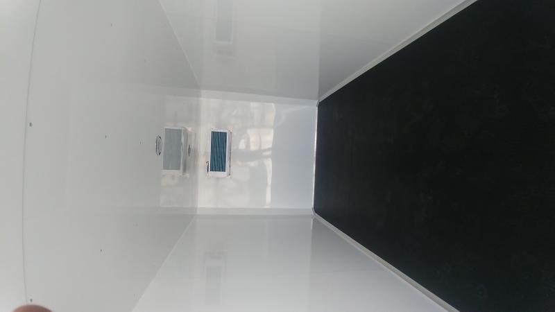 2019 H & H Refrigerated 7'x16' White Refrig. 10k
