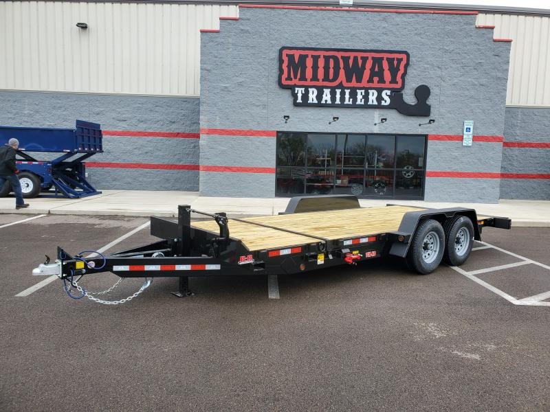 2020 B-b Trailers 7'x16'+4 Equipment 14k Tilt