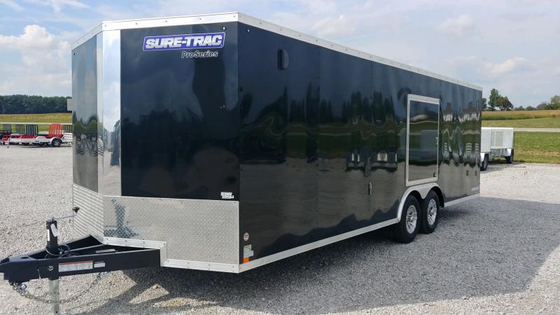 2019 Sure-trac 8.5x24 Psw 10k Black Esc Door