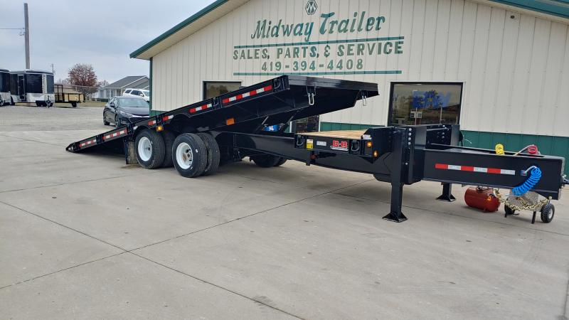 2020 B-b Trailers 8x24+4 Do Tilt 40k Air Brake